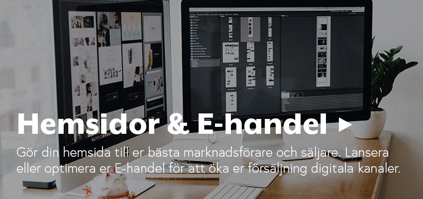Hemsidor & E-handel