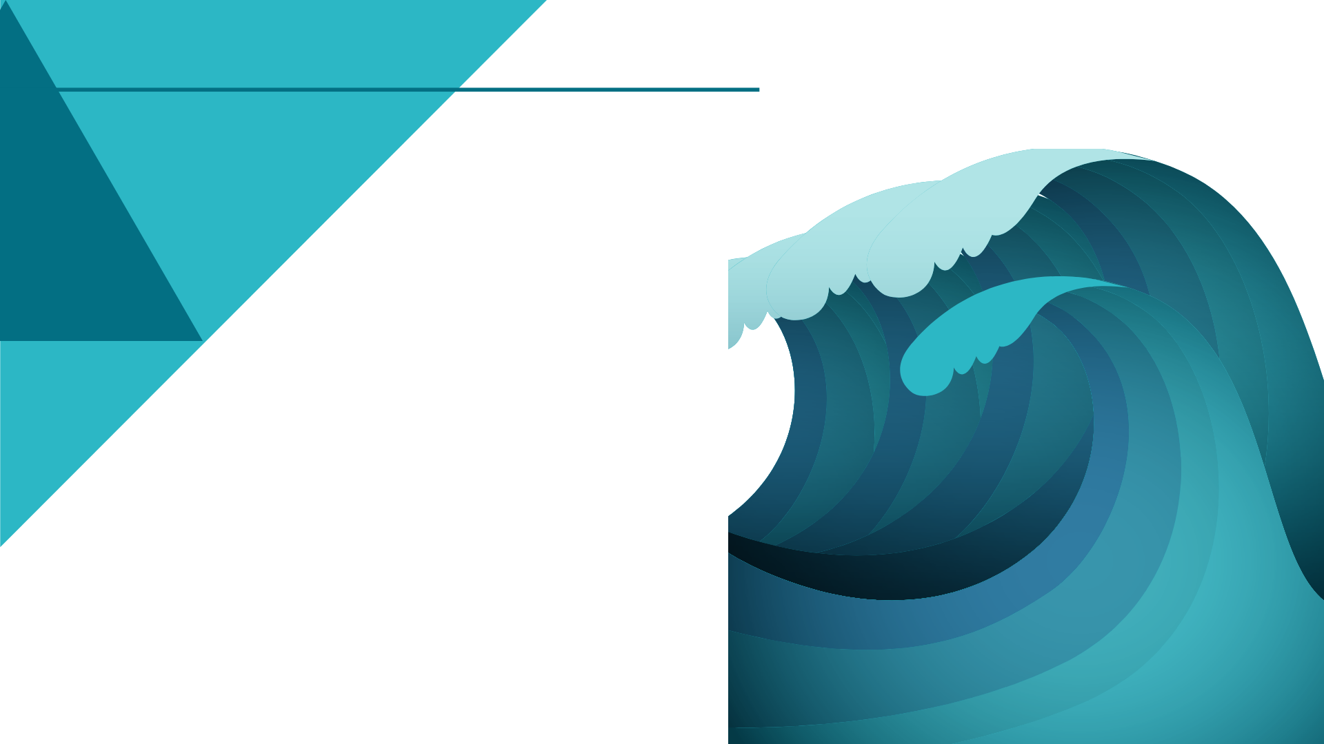 TeQflo wave background